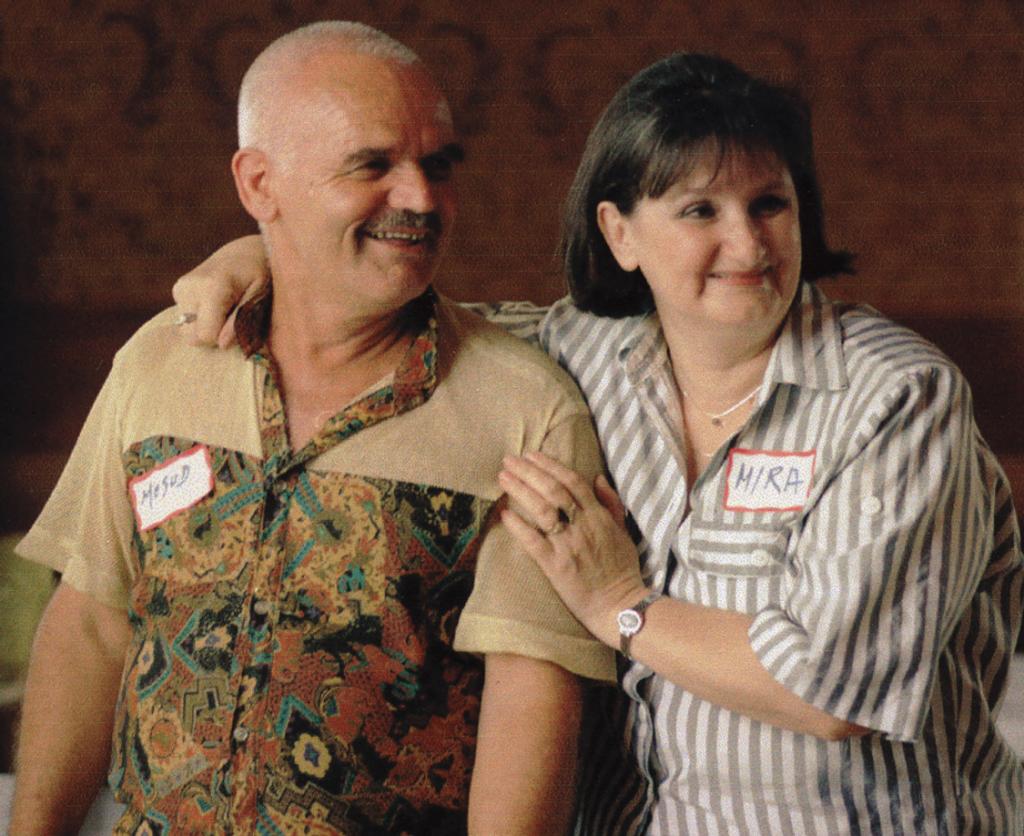 Bosnia two people