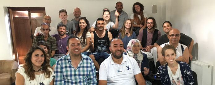 Israelis and Palestinians in Combatants for Peace
