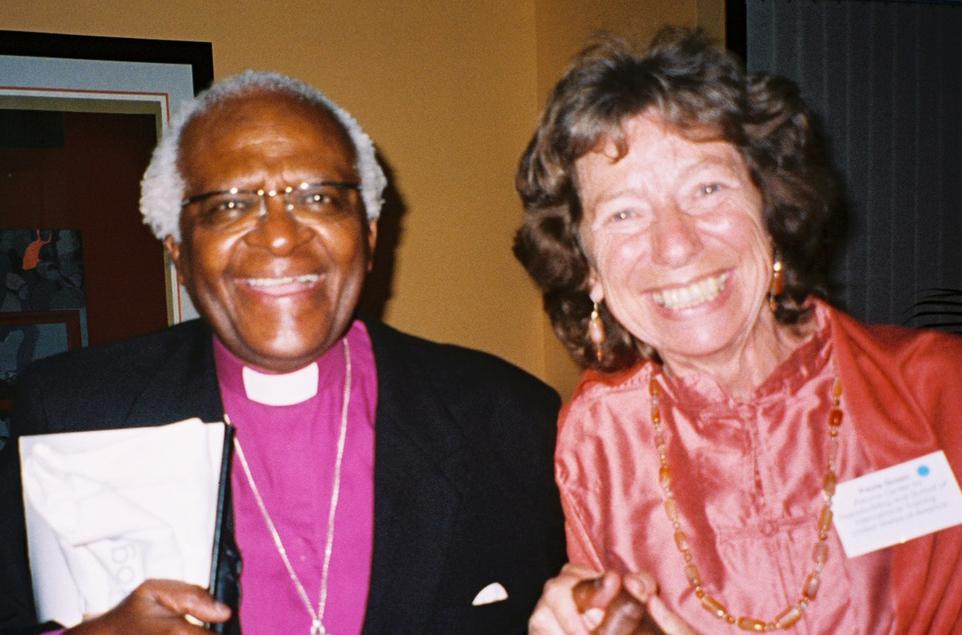 Archbishop Tutu in South Africa